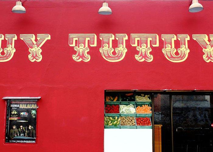 Uy Tutuy Greeting Card featuring the photograph Uy Tutuy by Tony Maduro