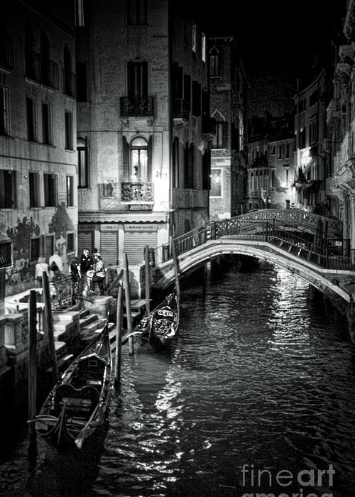 Venice Greeting Card featuring the photograph Venice Evening by Madeline Ellis