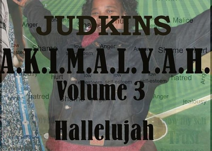 Hallelujah Greeting Card featuring the mixed media Volume 3 by AKIMALYAH Publishing