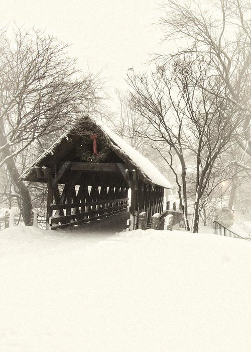 Winter Greeting Card featuring the photograph Waiting For The Sleigh by Andrew Soundarajan