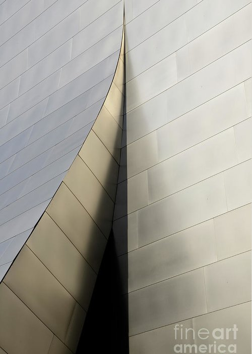 Disney Greeting Card featuring the photograph Walt Disney Concert Hall 6 by Bob Christopher