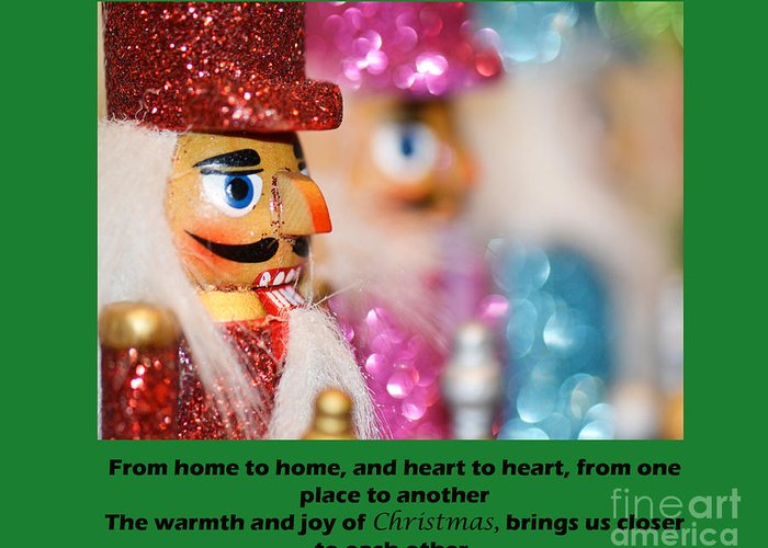 Christmas Greeting Card featuring the photograph Warmth And Joy by Traci Cottingham