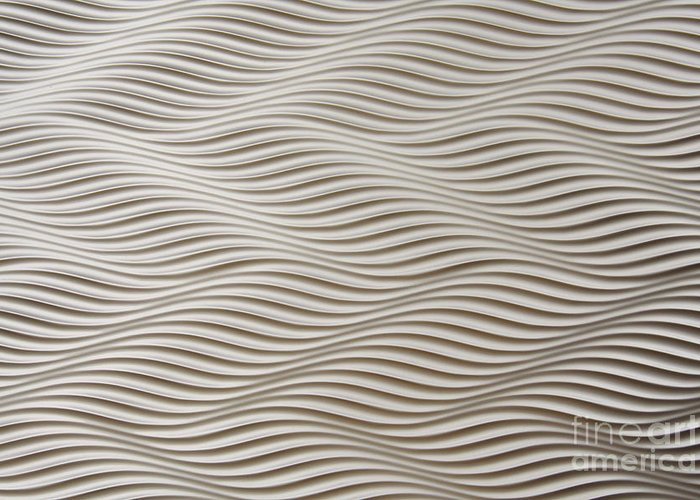 Abstract Greeting Card featuring the photograph Waves And Stripes Background by Roberto Giobbi