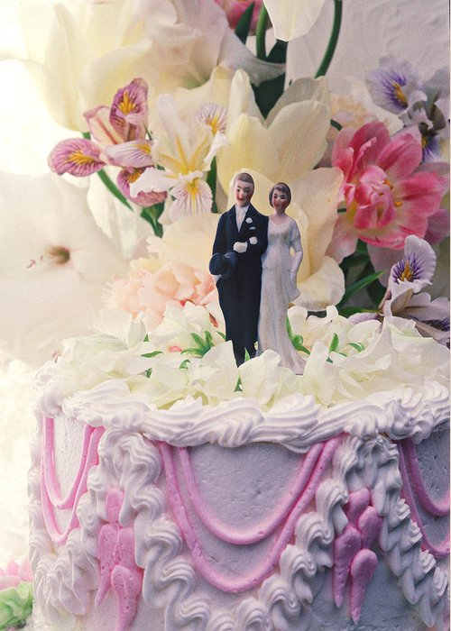 Wedding Greeting Card featuring the photograph Wedding Cake by Garry Gay