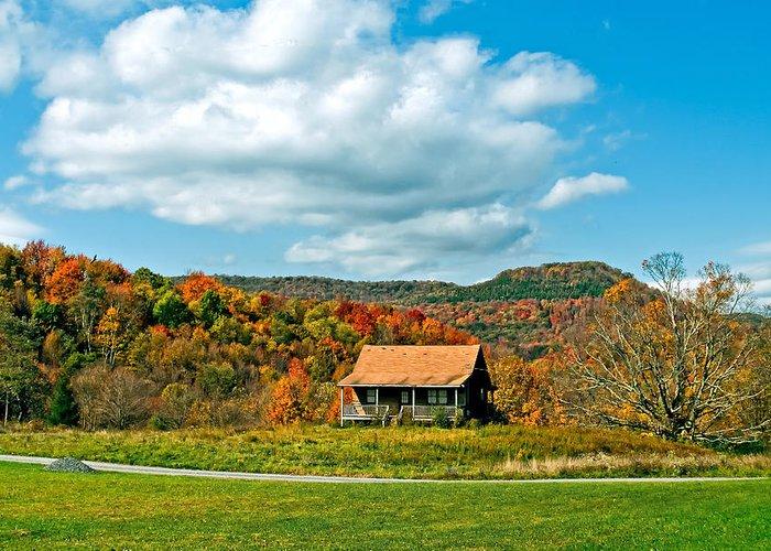 West Virginia Greeting Card featuring the photograph West Virginia Homestead by Steve Harrington