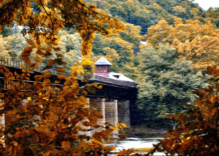 West Virginia Morn Greeting Card featuring the photograph West Virginia Morn by Bill Cannon