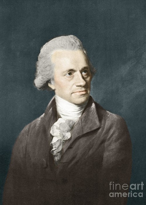 Science Greeting Card featuring the photograph William Herschel, German Astronomer by Science Source