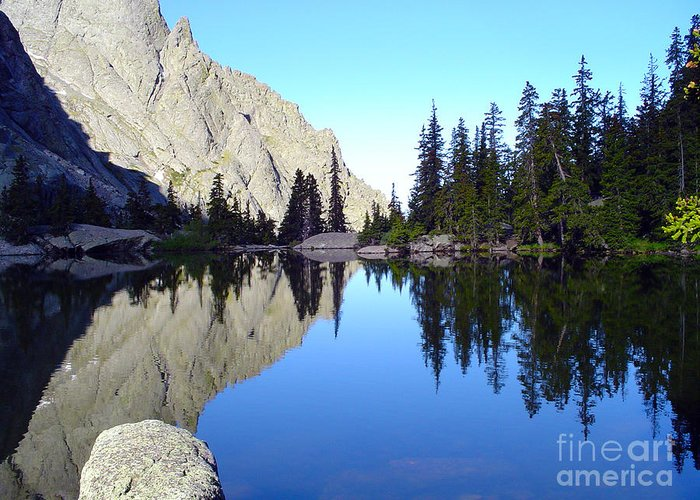 Landscape Greeting Card featuring the photograph Willow Lake Afternoon by Scotts Scapes