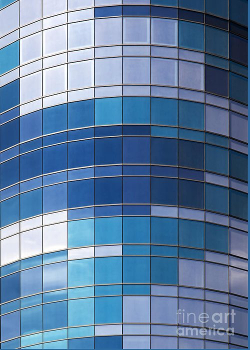 Background Greeting Card featuring the photograph Windows by Jane Rix