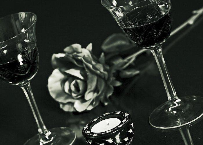 Wine Holder Greeting Cards