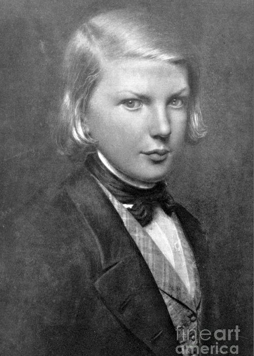 Young victor hugo french author greeting card for sale by photo history greeting card featuring the photograph young victor hugo french author by photo researchers m4hsunfo