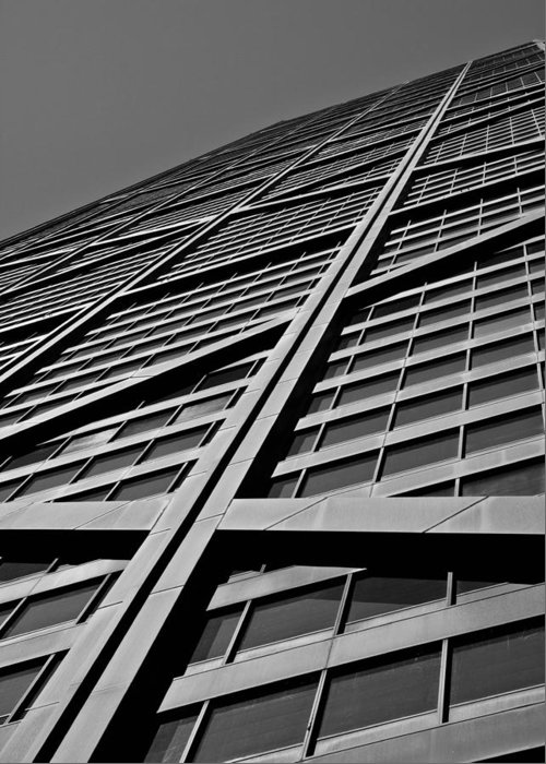 Leading Lines Greeting Card featuring the photograph Zig-zagging To The Top by Daniel Chen