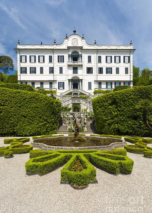 Europe Greeting Card featuring the photograph Lake Como,villa Carlotta, Italy by Marco Arduino