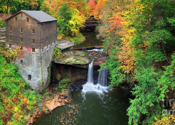 Mabry Mill Greeting Cards