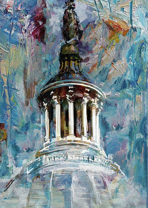 United States Capitol Dome Greeting Cards
