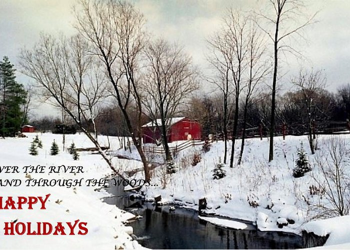 Happy Greeting Card featuring the photograph 072606-31b Holiday Greetings by Mike Davis