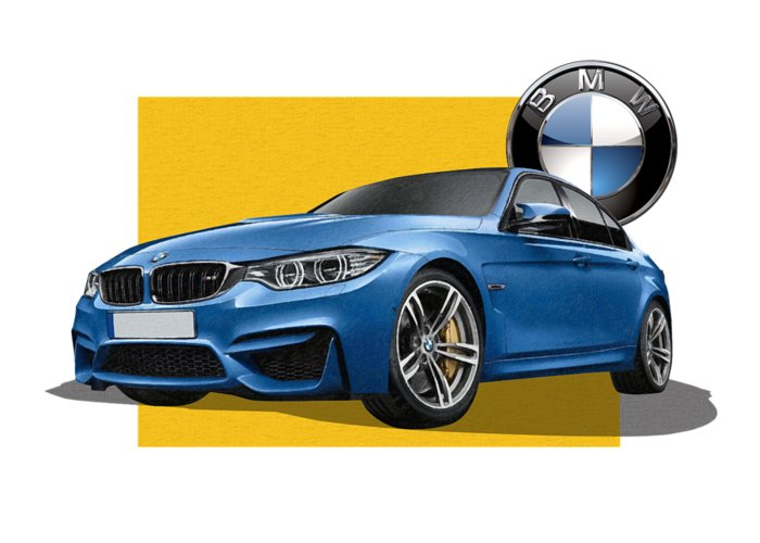 �bmw� Collection By Serge Averbukh Greeting Card featuring the photograph 2016 B M W M 3 Sedan with 3 D Badge by Serge Averbukh