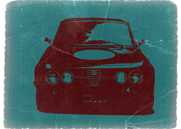 Alfa Romeo Gtv Greeting Card featuring the photograph Alfa Romeo Gtv by Naxart Studio