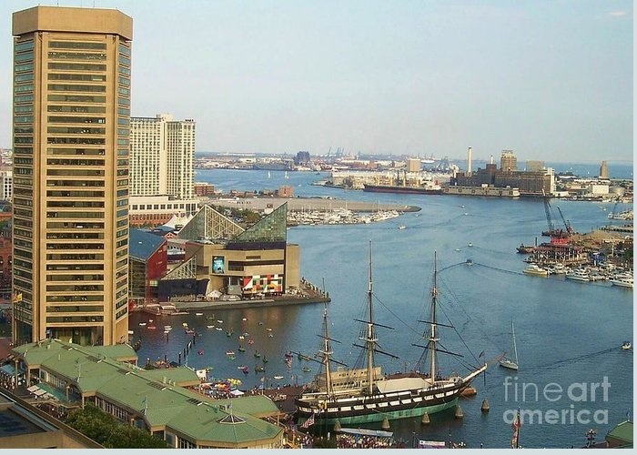 Baltimore Greeting Card featuring the photograph Baltimore by Debbi Granruth