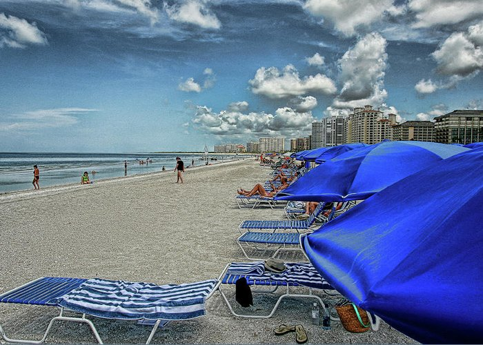 Beach Holiday Greeting Card featuring the photograph Beach Holiday by Artie Rawls
