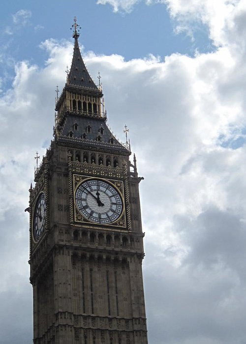 Big Greeting Card featuring the photograph Big Ben by Christopher Rowlands