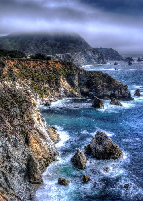 Big Sur Greeting Card featuring the photograph Big Sur by Anthony Citro