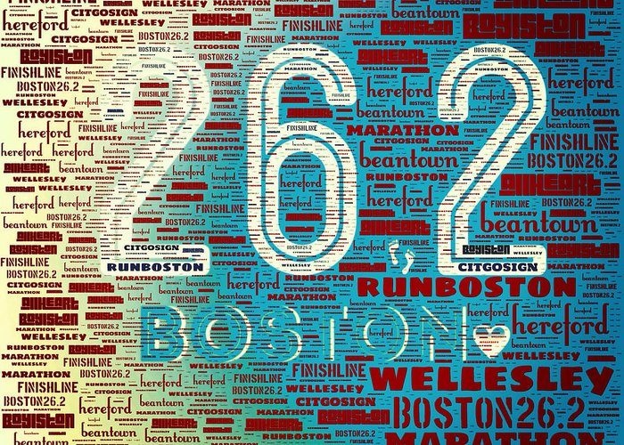 Boston Marathon Greeting Cards