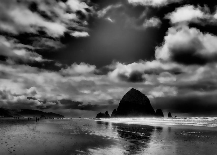 Cannon Beach Greeting Card featuring the photograph Cannon Beach by David Patterson