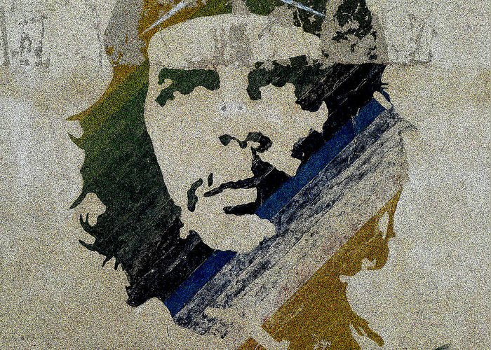 Che Greeting Card featuring the painting Che by Celestial Images