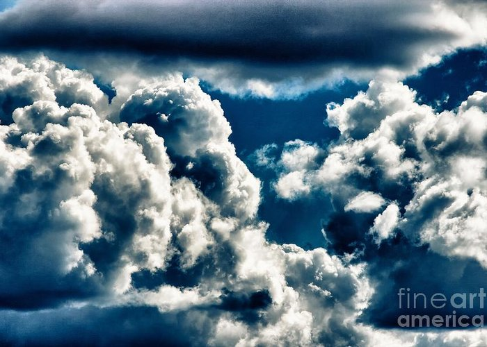 Canyon Greeting Card featuring the photograph Clouds by Hideaki Sakurai