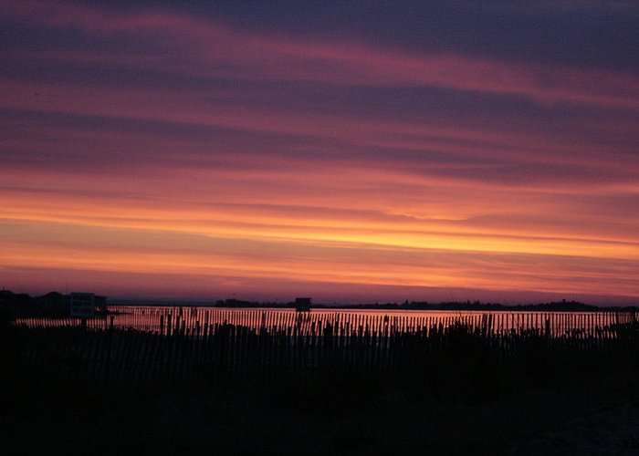 Sunrise Greeting Card featuring the photograph Dawns Early Light by Christopher Kirby