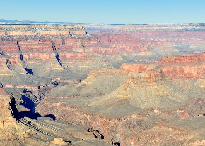 Grand Greeting Card featuring the photograph Down The Canyon by Tom Dowd