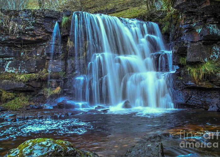Waterfalls Greeting Cards