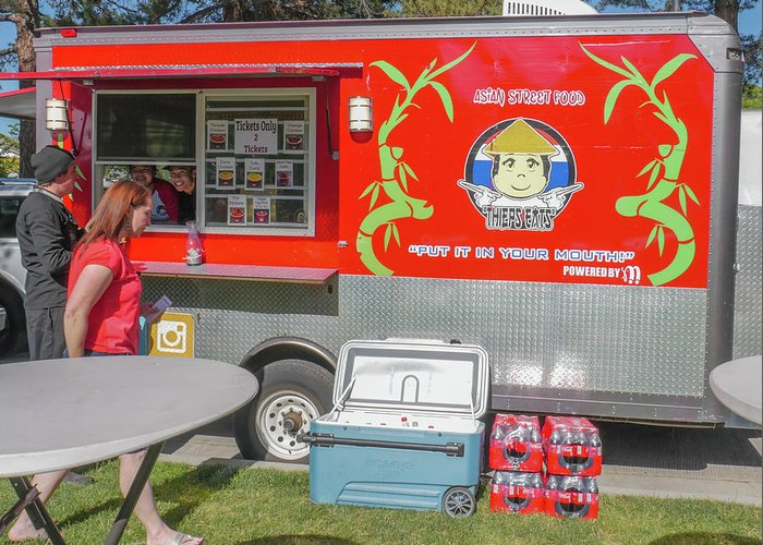 Food Truck Greeting Card featuring the photograph Food Truck by Billy Joe