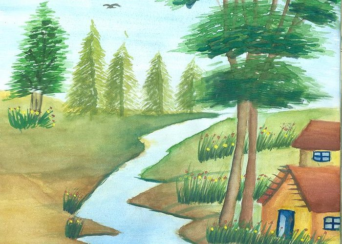 Gift of nature greeting card for sale by tanmay singh m4hsunfo