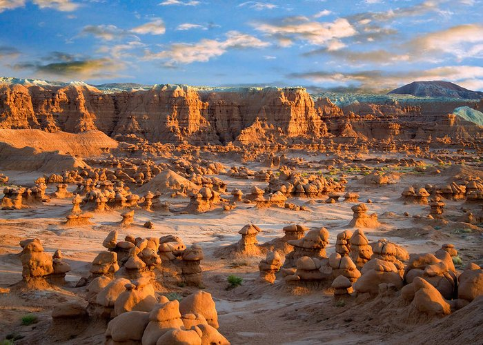 Goblin Valley State Park Greeting Card featuring the photograph Goblin Valley State Park Utah by Utah Images