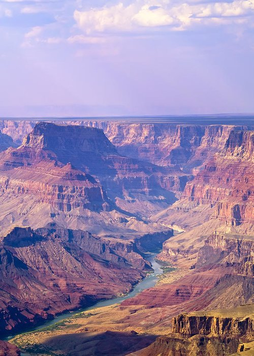 Grand Canyon Greeting Card featuring the photograph Grand Canyon I by Linda Morland