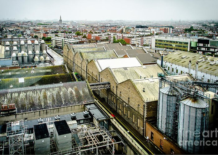 Ireland Greeting Card featuring the photograph Guinness Brewery In Dublin by RicardMN Photography