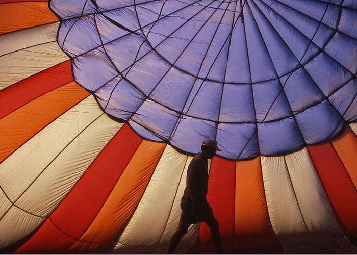 Hot Air Balloon Greeting Card featuring the photograph Hot Air Balloon - 11 by Randy Muir