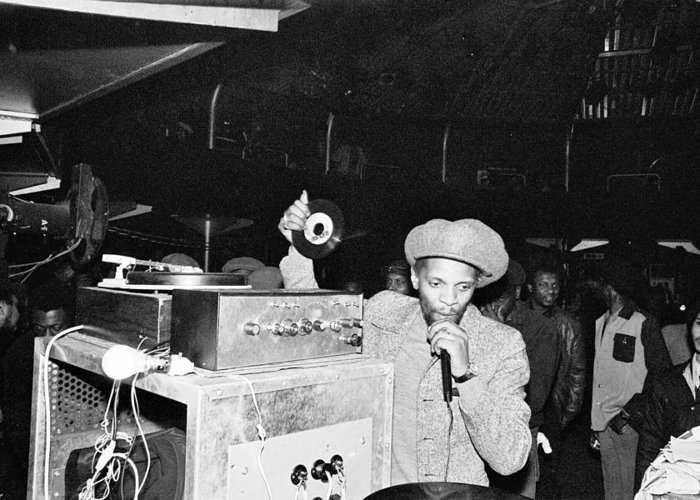 Jah shaka london 1984 number 5 greeting card for sale by stephen mosco dub greeting card featuring the photograph jah shaka london 1984 number 5 by stephen mosco m4hsunfo