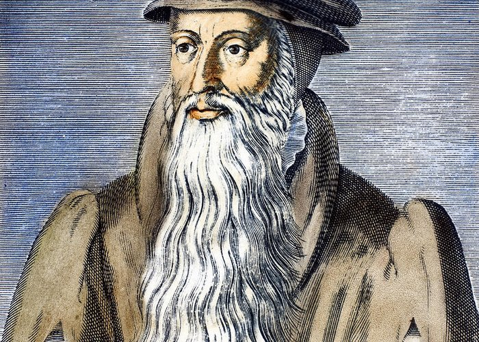 16th Century Greeting Card featuring the photograph John Knox (1505-1572) by Granger