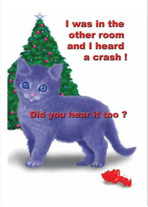 Kitten Greeting Card featuring the digital art Kitty 1 by Larry Ryan