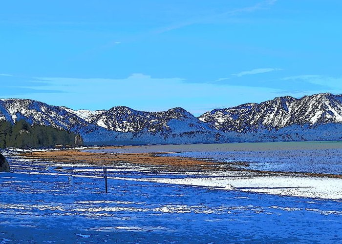 Lake Tahoe Greeting Card featuring the photograph Lake Tahoe by Christina McNee-Geiger