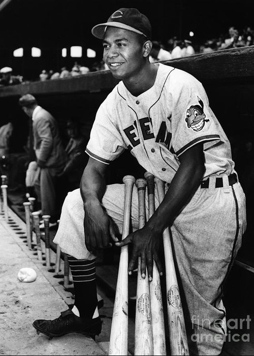 Larry Doby Greeting Cards