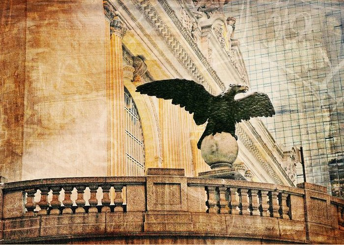 Grand Central Terminal Greeting Card featuring the photograph Let There Be Peace by Diana Angstadt