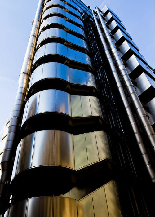 Lloyds Greeting Card featuring the photograph Lloyds Of London by David Pyatt