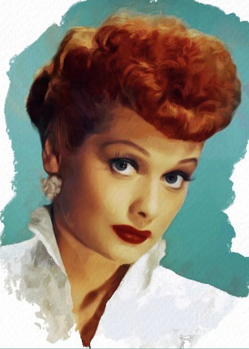 Lucille Ball Greeting Cards