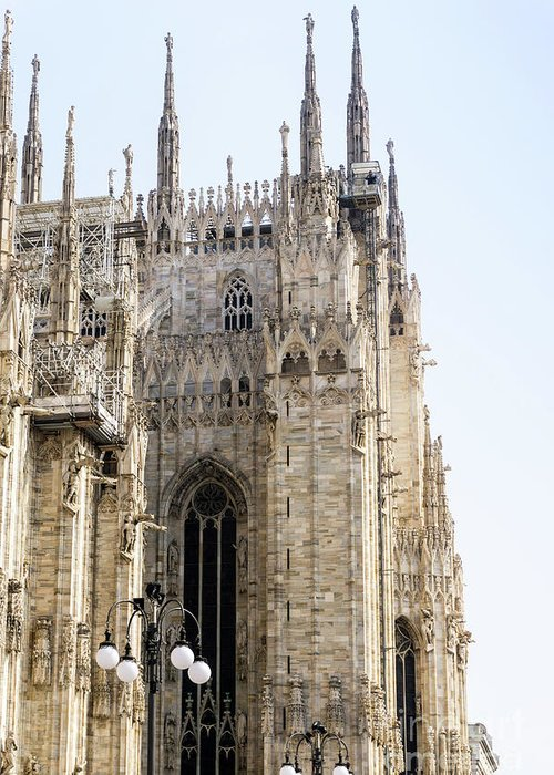 Milan Greeting Card featuring the photograph Milan Cathedra, Domm De Milan Is The Cathedral Church, Italy by Otto