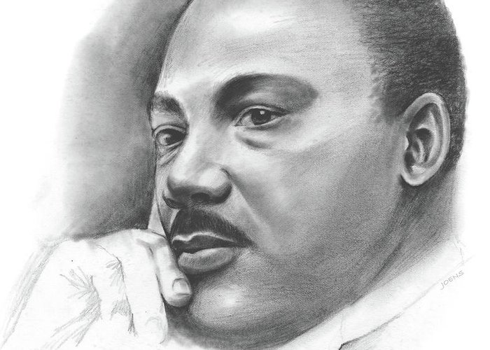 Martin Luther King Jr Greeting Cards
