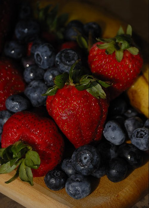 Fruit Greeting Card featuring the photograph Morning Fruit by Ed Zirkle